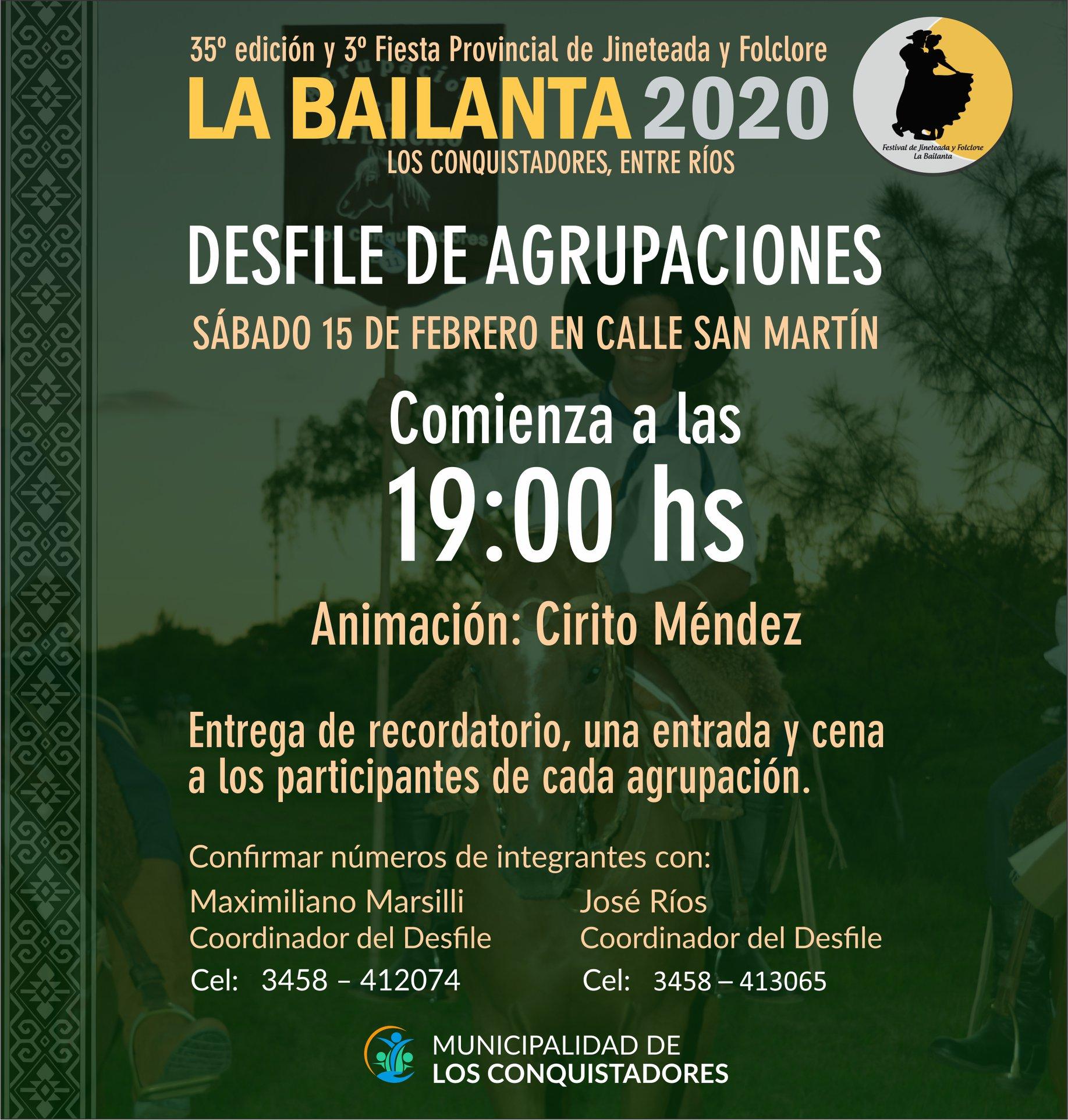 LA BAILANTA DE LOS CONQUISTADORES